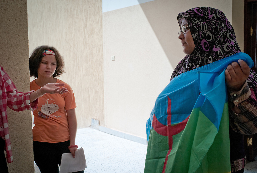 Amazigh school in Yefren, Libya
