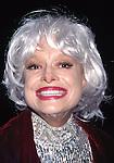 Carol Channing attending the Tony Awards at Radio City Music Hall,<br /> New York City on June 1, 1997