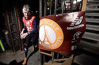 Rolf MAJCEN (autrichia) lors de La Verticale de la Tour Eiffel - 17 mars 2016 - Paris - France