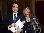 """ANTONELLA E PIERGIORGIO ROMITI<br /> VERNISSAGE """"ROMA 2006 10 ARTISTI DELLA GALLERIA FOTOGRAFIA ITALIANA"""" AUDITORIUM DELLA CONCILIAZIONE ROMA 2006"""