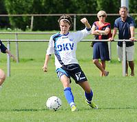 KVK Eva ' s Tienen : Adeline Medard.foto DAVID CATRY / Vrouwenteam.be