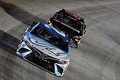#20: Erik Jones, Joe Gibbs Racing, Toyota Camry Auto-Owners Insurance, #96: Daniel Suarez, Gaunt Brothers Racing, Toyota Camry Genuine Parts & Service