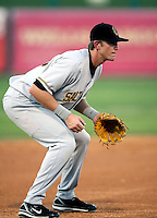 Adam Pavkovich / Salt Lake Bees in a game against the Tucson Sidewinders in Tucson, AZ - 09/01/2008 ..Photo by:  Bill Mitchell/Four Seam Images