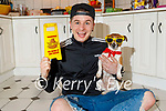Tadgh Fleming with his dog Binky who after there recent escapades has just over 40 millions viewings.