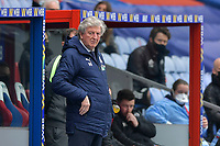 Roy Hodgson Manager of Crystal Palace during the Premier League behind closed doors match between Crystal Palace and Fulham at Selhurst Park, London, England on 28 February 2021. Photo by Vince Mignott / PRiME Media Images.
