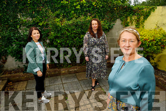 Kerry Rape and Sexual Abuse Centre.<br /> Front right: Vera O'Leary (Manager)<br /> Back l to r: Caroline Fennell (Admin) and Melissa Cournane (Counselor).