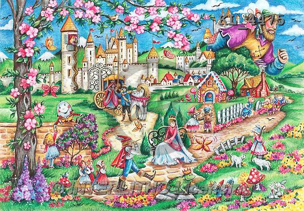 Interlitho, CHILDREN, KINDER, NIÑOS, paintings+++++,fairy tale scene,KL4475,#k#,puzzles