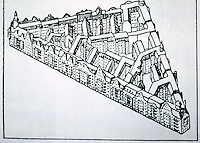 Berlin: Housing Blocks according to the development plan drawn up in 1897. BRECHT'S BERLIN by Von Eckhardt. Reference only.