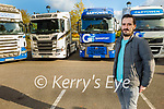 Anthony O'Sullivan launching the Truck Run in memory of his late father Hawley O'Sullivan for a Kerry Hospice fundraiser in the Rose Hotel on Saturday.