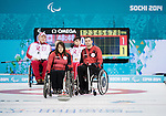 Ina Forrest and Mark Ideson, Sochi 2014 - Wheelchair Curling // Curling en fauteuil roulant.<br />