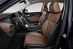 Front seat view of 2021 Hyundai Santa-FE-Hybrid Limited-HEV 5 Door SUV Front Seat  car photos