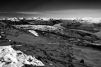 The Arrochar Alps and Loch Katrine from Ben Venue, Southern Highlands, Loch Lomond and the Trossachs National Park, Stirlingshire