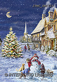 Marcello, CHRISTMAS SANTA, SNOWMAN, WEIHNACHTSMÄNNER, SCHNEEMÄNNER, PAPÁ NOEL, MUÑECOS DE NIEVE, paintings+++++,ITMCXM1723,#X#