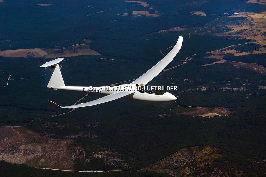 Segelflugzeug vom Typ Ventus  2T: SPANIEN 05.08.2005: Segelflugzeug vom Typ Ventus 2c T