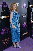 Christina Hendricks @ the premiere of 'The Neon Demon' held @ the Arclight theatre.<br /> June 14, 2016.
