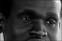 A. a South Sudanese refugee is seen in Jerusalem, August 20, 2007. Akun enter Israel illegally and his future is unclear as Israel said on Sunday it would turn away refugees from Sudan enforcing a policy aimed at halting illegal African migration via Egypt. Photo by Quique Kierszenbaum..