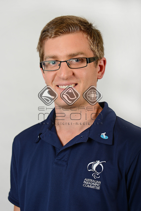 Joel McMaster / APC Staff<br /> Australian Paralympic Committee<br /> 2014 Sochi Paralympic Games<br /> (Games Processing)<br /> Melbourne VIC April 2013<br /> © Sport the library / Jeff Crow