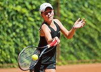 Netherlands, Dordrecht, August 03, 2015, Tennis,  National Junior Championships, NJK, TV Dash 35, Anouk Koevermans<br /> Photo: Tennisimages/Henk Koster