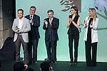 "Winner of the prize, ""Gran Angular"", Alvaro Garcia Hernandez during the delivery of SM Awards of children's literature ""El Barco de Vapor"" and ""Gran Angular"" at Real Casa de Correos in Madrid. April 19,2016. (ALTERPHOTOS/Borja B.Hojas)"