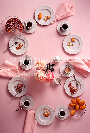 After mid day coffee tabletop