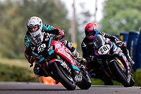 11th September 2021; Cookstown, County Tyrone, Northern Ireland, Cookstown 100 Road Races: Darryl Tweed (McAdoo / Gortreagh Printing Kawasaki ZX-10RR) finished in 2nd place overall on the feature Cookstown 100 Superbike race, after it restarted on a wet track.
