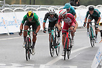 Italian Champion Sonny Colbrelli (ITA) Bahrain Victorious finishes 2nd and collects more points in the Green Jersey competition at the end of Stage 16 of the 2021 Tour de France, running 169km from Pas de la Case to Saint-Gaudens, Andorra. 13th July 2021.  <br /> Picture: Colin Flockton   Cyclefile<br /> <br /> All photos usage must carry mandatory copyright credit (© Cyclefile   Colin Flockton)