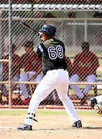 Leonardo Reyes / Colorado Rockies 2008 Instructional League..Photo by:  Bill Mitchell/Four Seam Images
