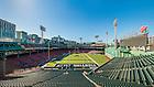 Nov. 20, 2015; Fenway Park set up for 2015 Shamrock Series game. (Photo by Matt Cashore/University of Notre Dame)