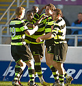08/11/2009  Copyright  Pic : James Stewart.sct_jspa10_falkirk_v_celtic  . :: GARY CALDWELL CELEBRATES AFTER HE SCORES CELTIC'S FIRST :: .James Stewart Photography 19 Carronlea Drive, Falkirk. FK2 8DN      Vat Reg No. 607 6932 25.Telephone      : +44 (0)1324 570291 .Mobile              : +44 (0)7721 416997.E-mail  :  jim@jspa.co.uk.If you require further information then contact Jim Stewart on any of the numbers above.........