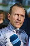October 03, 2015, Paris, Longchamp -  Jockey Thierry Jarnet in Portrait
