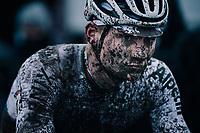CX world champion Mathieu Van der Poel (NED/Alpecin-Fenix) after finishing<br /> <br /> UCI cyclo-cross World Cup Dendermonde 2020 (BEL)<br /> Men's Race<br /> <br /> ©kramon