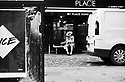 London, UK. 02.02.2020. A dapper dresser, Berwick Street, Soho, London, UK. Photograph © Jane Hobson.