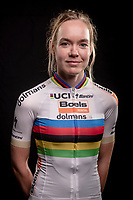 portrait session with double 2020 World Champion Anna van der Breggen (NED/Boels-Dolmans) <br /> Valkenburg (NED), oktober 2020<br /> <br /> ©kramon