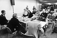 1992, ABNAMROWTT, persconferentie met Becker
