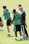 MADRID (11/08/2010).- Real Madrid training session at Valdebebas. Jose Mourinho and Roysthon Drenthe...Photo: Cesar Cebolla / ALFAQUI