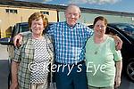 Killarney trio eady for Drive In bingo in Castleisland on Saturday, l to r: Peg and Jim Kelly (Headford House) and Patricia Cusack (Killarney).