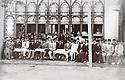 Iran 1935? .1st line, 5th right, Qazi Mohammed in Tabriz?. <br /> Iran 1935? .Ier rang, 5eme droite, Qazi Mohammed a Tabriz?.
