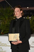 CANNES, FRANCE. July 17, 2021: Caleb Landry Jones at the photocall for Cannes Awards 2021 at the 74th Festival de Cannes.<br /> Picture: Paul Smith / Featureflash