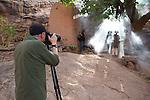 Art Wolfe on location, Togo