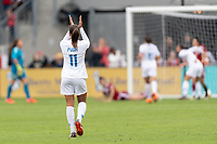 Houston, TX - Sunday April 08, 2018: Mallory Pugh during an International Friendly soccer match between the USWNT and Mexico at BBVA Compass Stadium.