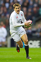 Toby Flood of England during the QBE International between England and Fiji at Twickenham on Saturday 10th November 2012 (Photo by Rob Munro)