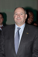 Montreal (QC) CANADA, November 5, 2007 - <br /> Yvon Bolduc, President and CEO, Fond de Solidarite FTQ. listen to<br /> <br /> Dr. Eric Dupont, Co-founder of AEterna Zentaris and Atrium Innovations, at the Canadian Club of Montreal's podium<br /> talk about <br />     The AEterna Atrium Model,Monday, November 5, 2007<br />     at the<br />     Club Saint James of Montreal,<br />     1145, Union Avenue, MontrÈal.<br /> <br /> photo : (c) ®Pierre Roussel -  images Distribution