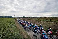 over the Holleweg cobbles<br /> <br /> 104th Ronde van Vlaanderen 2020 (1.UWT)<br /> 1 day race from Antwerpen to Oudenaarde (BEL/243km) <br /> <br /> ©kramon