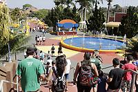 Vinhedo (SP), 26/09/2020 - Hopi Hari - O parque de diversoes Hopi Hari localizado na cidade de Vinhedo, interior de Sao Paulo, reabriu para o publico neste sabado (26), com o horario de funcionamento das 10h as 17h e capacidade de visitantes em 40%, devendo ampliar conforme a evolucao da flexibilizacao na Regiao Metropolitana de Campinas (RMC).  O parque retorna com suas atividades com base em protocolos anticovid-19, para o funcionamento das atracoes. (Foto: Denny Cesare/Codigo 19/Codigo 19)