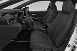Front seat view of 2019 Toyota Corolla-Touring-Sports Hybrid-Style 5 Door Wagon Front Seat  car photos