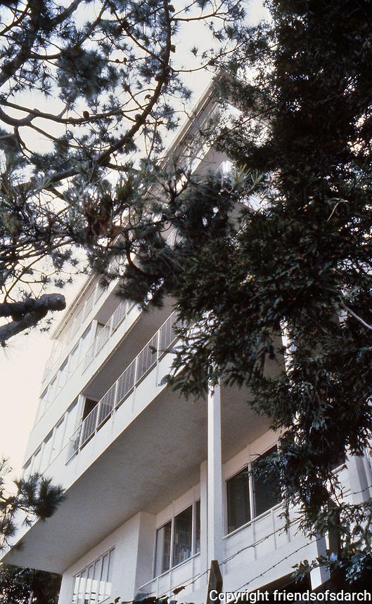 Richard Neutra: Kahn House, San Francisco, 1939. Photo '83.