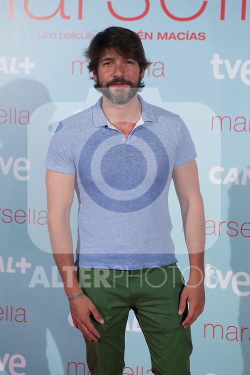 Rodolfo Sancho poses at `Marsella´ film premiere photocall at Capital cinema in Madrid, Spain. July 17, 2014. (ALTERPHOTOS/Victor Blanco)
