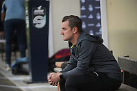 headcoach Dave Mattheus of AA Gent Ladies pictured during a female soccer game between RSC Anderlecht Dames and AA Gent Ladies  on the fourth matchday of the 2021 - 2022 season of Belgian Womens Super League , friday 10 th of September 2021 in Overijse , Belgium . PHOTO SPORTPIX | DIRK VUYLSTEKE