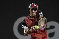 Rio de Janeiro (RJ), 18/02/2020 - Rio Open 2020 - Tenista Dominic Thiem (AUT) durante partida contra o tenista Felipe Meligeni (BRA) no Rio Open 2020, etapa ATP 500 do circuito mundial de Tenis, no Jockey Club Brasileiro no Rio de Janeiro (RJ), nesta terca-feira (18). (Foto: Andre Fabiano/Codigo 19/Codigo 19)