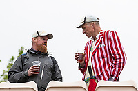 Enjoying a drink at the Hampshire Bowl during India vs New Zealand, ICC World Test Championship Final Cricket at The Hampshire Bowl on 18th June 2021